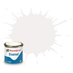 22 White Gloss - 14ml Enamel Paint