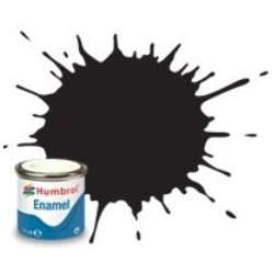 33 Black Matt - 14ml Enamel Paint