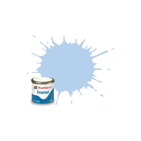 44 Pastel Blue Matt - 14ml Enamel Paint