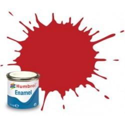 60 Scarlet Matt - 14ml Enamel Paint
