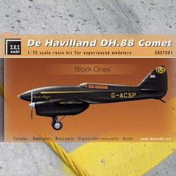 De Havilland DH-88 Comet 'Black ones' full resin kit