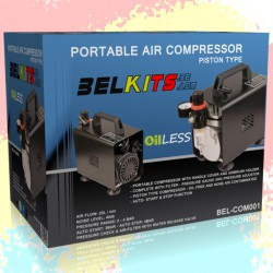 Belkits Portable Air Compressor for Airbrush