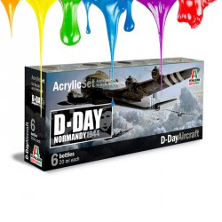 Acrylic set (6 pcs x 20 ml) – D-Day Normandy 1944