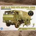 JGSDF 3 1/2t truck with additional armor (w/6 figures)
