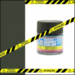 Frasco de tinta Mr. Hobby H-309 Semi-Gloss Green (FS34079)