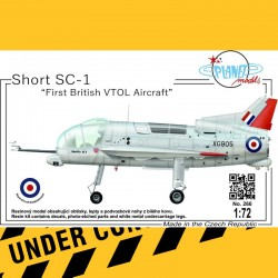 "1/72 Short SC-1 ""First British VTOL Aircraft"""