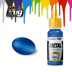 Warhead Metallic Blue paint