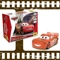 Lightning McQueen from the movie Disney Cars
