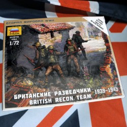 1/72 British Recon Team 1939-1945