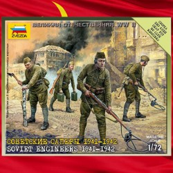 1/72 Soviet Engineers 1941-1942