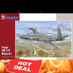 "1/72 Fouga CM 170 Magister ""Exotic Air Forces"""