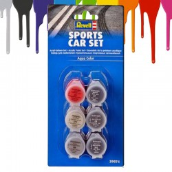Acrylic Paint Sports Car Set (6 x 5 ml)