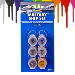 Tintas acrilicas Revell Military Ship Set (6 x 5 ml)