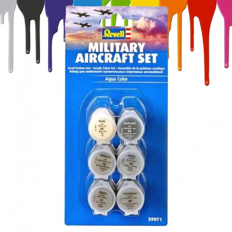 Acrylic Paint Military Aircraft Set (6 x 5 ml)