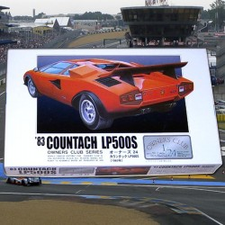 1/24 Lamborghini Countach LP500S (1983) (OWNERS CLUB)