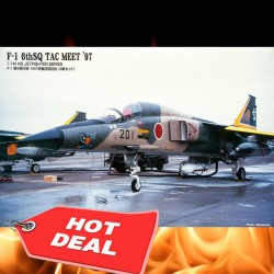 1/144 Mitsubishi F-1 6thSQ TAC Meet '97 (3 piecies)