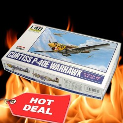 1/48 Curtiss P-40E Warhawk