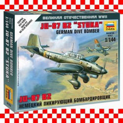 1/144 Ju87B-2 Stuka German Dive Bomber