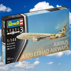 1/144 Airbus A320 ETIHAD AIRWAYS