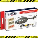 US Army Helicopters Paint Set
