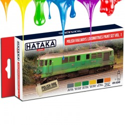 Polish Railways locomotives paint set vol. 1