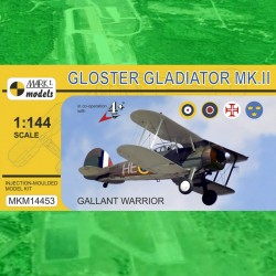 "1/144 Gloster Gladiator Mk.II ""Gallant Warrior"""