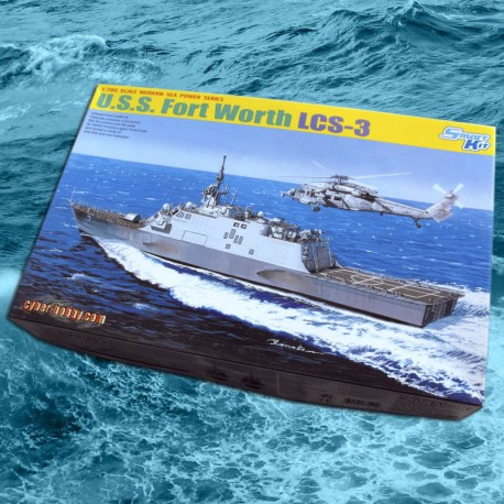 1/700 USS Fort Worth LCS-3