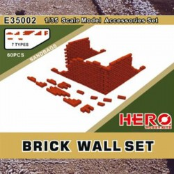 1/35 Brick Wall Set