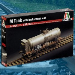 HO/1:87 M TANK with brakeman's cab
