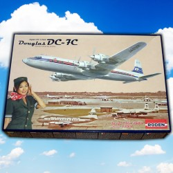1/144 Douglas DC-7C Japan Air Lines