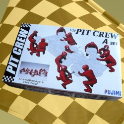 1/20 Garage & Tools - Pit Crew A set