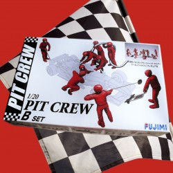 1/20 Garage & Tools - Pit Crew B set