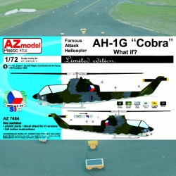 """1/72 Bell AH-1G """"Late Cobra"""" (What if)"""