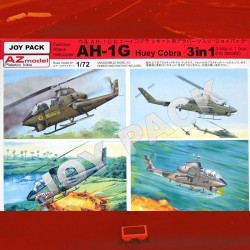 1/72 AH-1G Huey Cobra (Joy Pack)