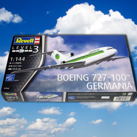 Boeing 727-100 GERMANIA