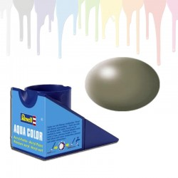 Revell Greyish Green RAL 6013, silk Aqua Color (18ml)