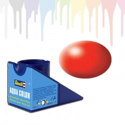 Revell Luminous Red RAL 3026, silk Aqua Color (18ml)