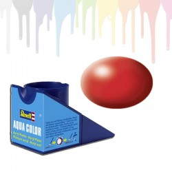 Revell Fiery Red RAL 3000, silk Aqua Color (18ml)