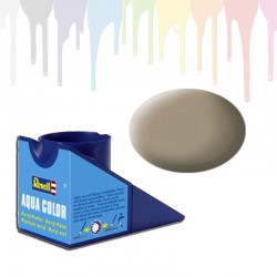 Revell Beige RAL 1019, solid matt Aqua Color (18ml)