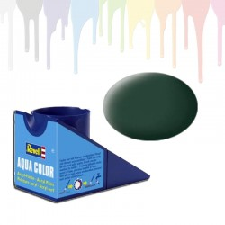 Revell Dark green RAF, solid matt Aqua Color (18ml)