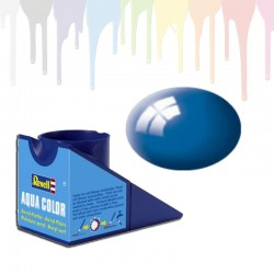 Revell Blue RAL 5005, gloss Aqua Color (18ml)