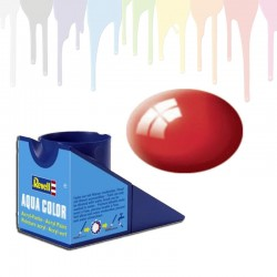 Revell Fiery Red RAL 3000, gloss Aqua Color (18ml)