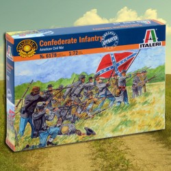 1/72 Confederate Infantry
